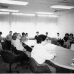 1990_Hospice volunteers in training