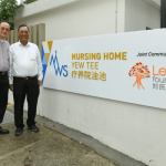 2018_MWS Chairperson Rev Dr Daniel Koh with Key Donor Lew Foundation